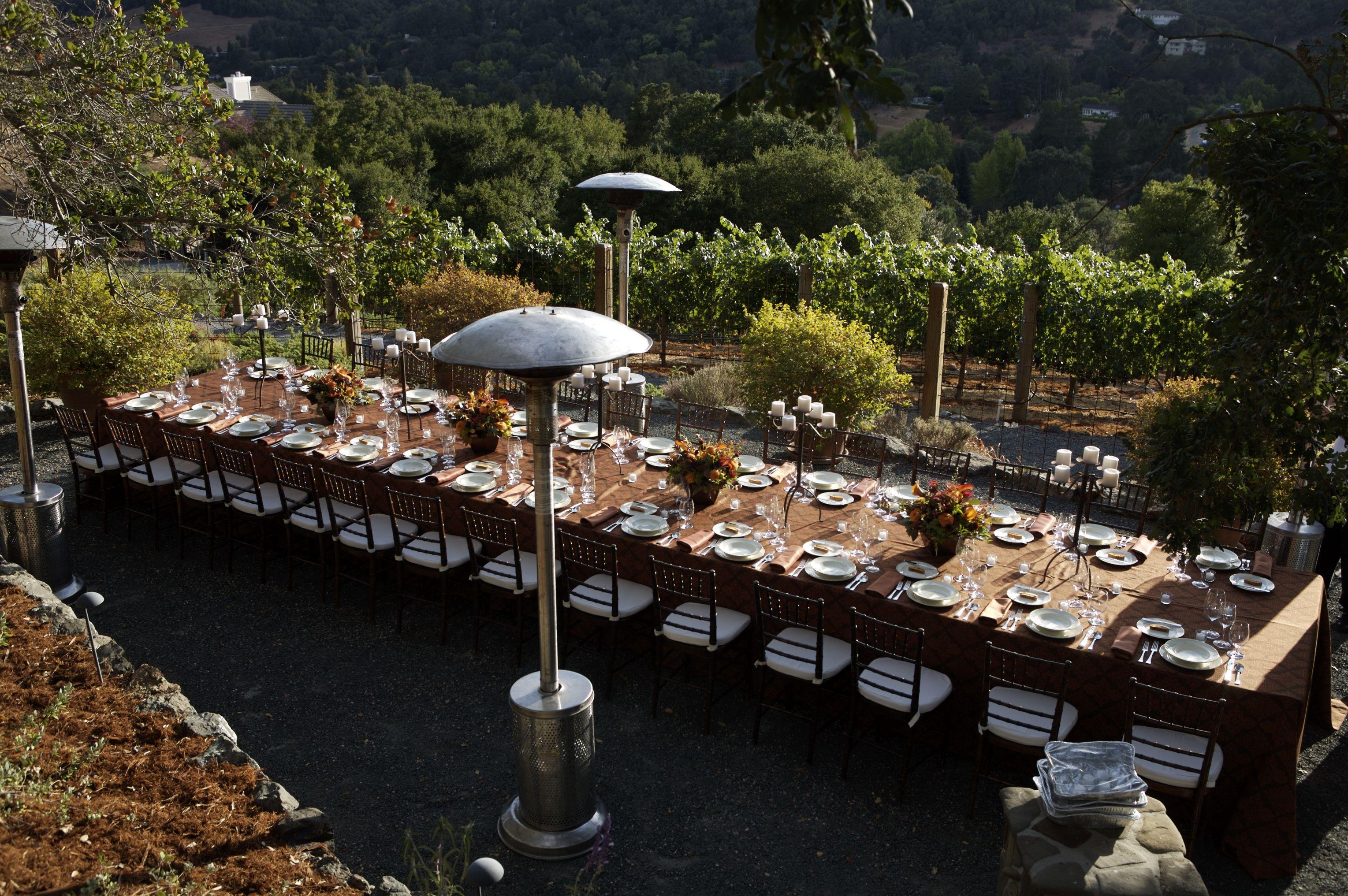 Dinner at Reliez Valley Vineyards